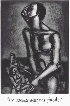 Georges Rouault Misrere series