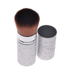 DH Retractable Face Powder Foundation Brush Makeup Adjustable Blush Cosmetic *** More info could be found at the image url.