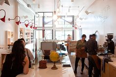 Caffeine Fix: 58 Extraordinary Coffee Shops Around America -- Grub Street New York / Venice, CA