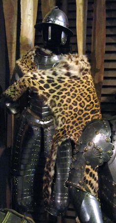 "Armour of a ""Hussar companion"" (Polish cavalryman).Date 17th century"