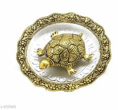 Checkout this latest Idols & figurines_0-500 Product Name: *Alluring Antique Tortoise Plate* Material: White metal Size: (L X W X H) - 14 cm X 14 cm X 3 cm Description: It Has 1 Piece Of Antique tortoise Plate Country of Origin: India Easy Returns Available In Case Of Any Issue   Catalog Rating: ★4.4 (233)  Catalog Name: Classic Decor Items Vol 3 CatalogID_71780 C127-SC1615 Code: 392-637948-315