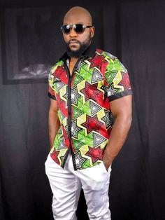 Dashiki Shirt, Ankara, African Print Shirt, African Shirts For Men, African Men Fashion, Beach Tops, African Dress, Printed Leggings, Beaches