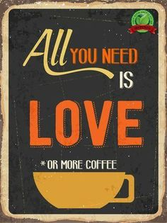 We think it's going to be a multiple cups of coffee kinda day.. #coffee #love <3