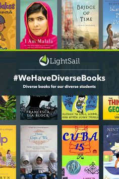 At LightSail, #WeHaveDiverseBooks for student readers! All books come complete with in-text formative assessments from LightSail. Lexile measure 250 and up. We proudly support the #WeNeedDiverseBooks movement.
