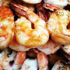 Whiskey BBQ Shrimp Recipe: The whisky sauce adds a sweet-smoky flavor, while using shrimp as your protein keeps this dish on the lighter side. #SelfMagazine