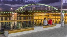 Sava Promenada at the Belgrade Waterfront -