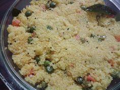 Kitchen Kaadhal : Corn rava upma