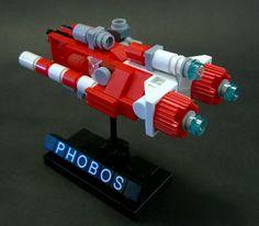 "https://flic.kr/p/o36ERA | Sobani Frigate ""Phobos"" | Heavy combat frigate with 3 forward ion cannons."