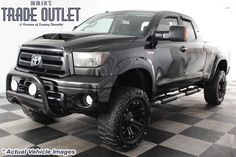 2010 Toyota TUNDRA 4X4 DOUBLE CAB*6 INCH LIFT*35 INCH TIRES*XD MONSTER RIMS