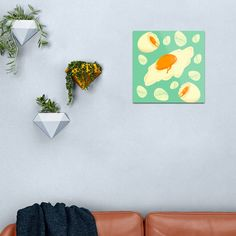 The Sunny Side Metal Print by neniarts