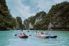 A Taste of Thailand - James Bond Licence to Thrill - golftravelandleisure.com Golf Thailand, Thailand Travel, James Bond Island, Underground Caves, Phi Phi Island, Chiang Mai, Travel And Leisure, Kayaking, Serenity
