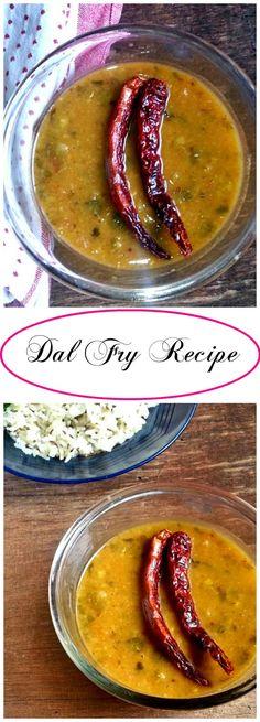 Dal Fry Recipe