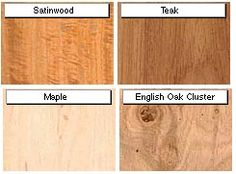 different types of furniture wood. have you ever tried to identify what kind of wood a certain piece furniture is ofdifferent types different r