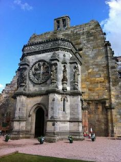 Rosslyn Chapel of The Templars ~ Edinburgh, Scotland