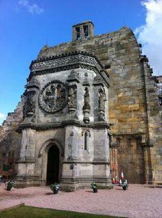 Rosslyn Chapel of The Templars ~ Edinburgh, Scotland