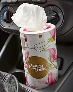 Car Cup Holder Tissues 3 Pack | House of Bath