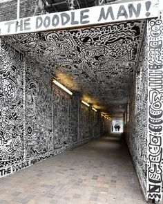 By @the_doodle_man in London / Photo by @D7606 / Support from us (http://ift.tt/K244E7) #globalstreetart by globalstreetart