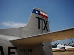 World War II aircraft on display, at the Historic Aviation Memorial Museum (HAMM) at Pounds Regional Airport (TYR) in Tyler Texas
