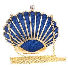 Women's Shell Evening Bag wedding Handbag Luxury Designer High Quality Boutique Clutch ladies party purses wallet