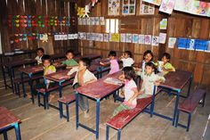 UWS Kah. Opened in 2011 in the Andoung Meas region of Ratanakiri, UWS Kah School serves families of the Kachock tribe, one of the smaller groups in the area. #SchoolProfiles