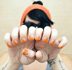 Zigzag Slash Manicure