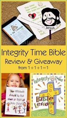 Integrity Time Bible Review and Giveaway {giveaway ends 4/16/14} from @{1plus1plus1} Carisa