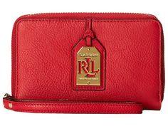 LAUREN by Ralph Lauren Aiden Tech Zip Wristlet Phone Wallet