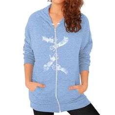 Fashions Awesomeaunt Zip Hoodie (on woman)