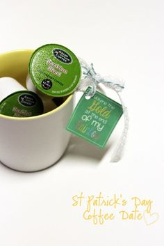 Have A Coffee Date on St Patrick's Day- Truly Chic Inspirations