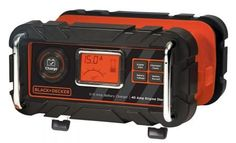 BLACK+DECKER BC15BD 15 Amp Bench Battery Charger Engineering, Amp, Engine Start, Electronics, Black, Charger, Cars, Get Well Soon, Black People