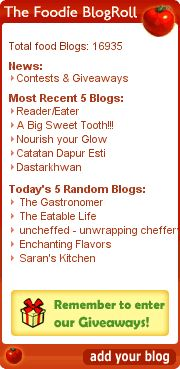 Foodie Blogroll