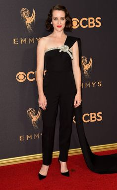 "<p>The <em>Big Little Lies</em> star was a big winner of the night, for her role in the show and as an executive producer. While Reese's Stella McCartney tuxedo dress and matching Christian Louboutin pumps seemed like safe choices, the ensemble was a big departure from her ultra-feminine, body-hugging gowns of Emmys' past. She showed up to the red carpet making a style statement: ""I'm not just some pretty Hollywood actress; I'm a boss."" Her men..."