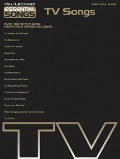 Hal Leonard Essential Songs - TV Songs Piano, Vocal, Guitar Songbook Hal Leonard,http://www.amazon.com/dp/B000K6A05Y/ref=cm_sw_r_pi_dp_l.0otb12473W7MT9