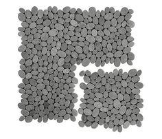 Malla 30 x 30 cm gris Serie MOSAIC COIN leroy merlin