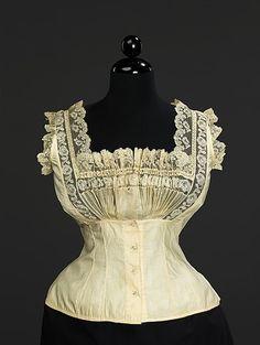 Corset Cover   c.1889  The Metropolitan Museum of Art