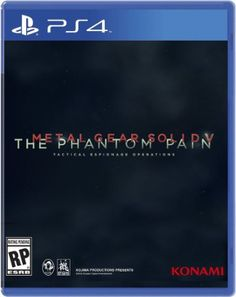 Amazon.com: Metal Gear Solid V: The Phantom Pain - PlayStation 4: Video Games