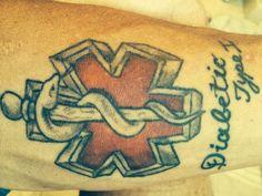 Unregulated rise of medical alert tattoos stirs debate Diabetes Tattoo, Type 1 Diabetes, Life Tattoos, New Tattoos, Tatoos, Medical Alert Tattoo, Medical Tattoos, Ten, Tatting