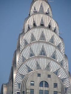 Chrysler building NYC...art deco at its best