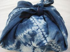 Indigo Plum Furoshiki by sfennell on Etsy