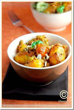 Basil Potato Curry (03) by MeetaK