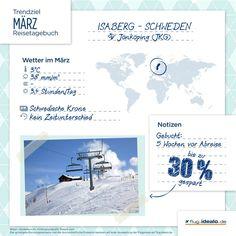 Trendreiseziel Isaberg in Schweden. Ideal für Wintersportler. Günstige Flüge buchen: http://flug.idealo.de/
