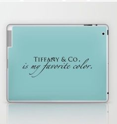 Tiffany Blue is my favorite color. ❤️