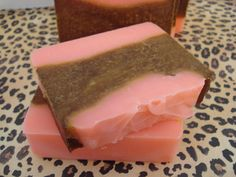 Pink Sugar Handcrafted Soap #soap #handmade #pink