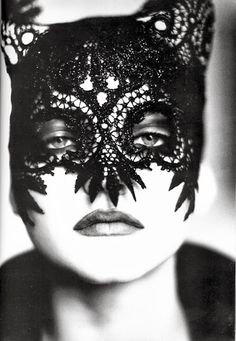 The Darker Horse: Adorned | Crochet Mask | High Fashion Knitwear | Designer Knitwear