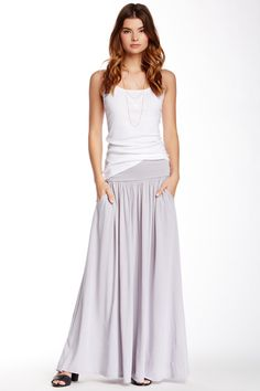 c5e40ea90a35a0 Fold Over Maxi Skirt by Three Dots on  nordstrom rack Three Dots