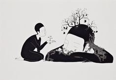 Daehyun Kim - Moonassi drawing