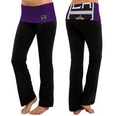 Natasha: Los Angeles Kings Women's Sublime Knit Lounge Pants – Black