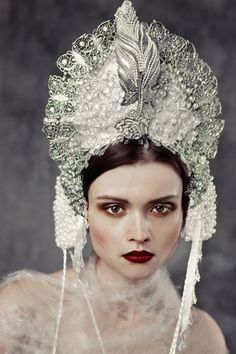 editorial for GLASbook/ costumes by Agnieszka Osipa