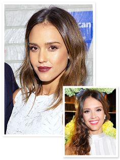 Hair Makeover Alert! See Jessica Alba's Tousled Long Bob #InStyle