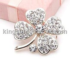 2011 new fashion alloy rhinestone brooch - China jewelry and alloy brooch